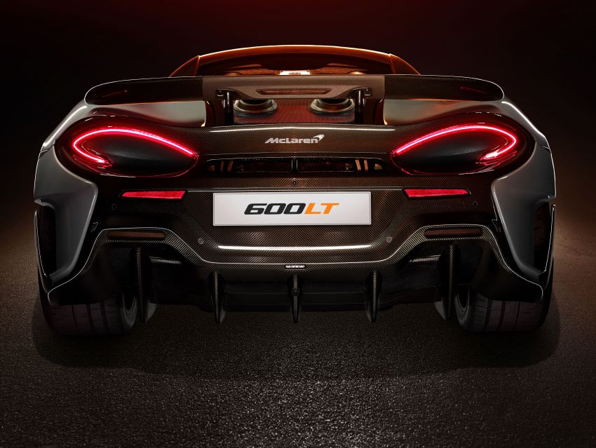 McLaren 600LT revealed – new Longtail with 600 PS Image #832756