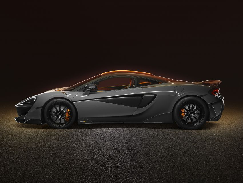 McLaren 600LT revealed – new Longtail with 600 PS Image #832758