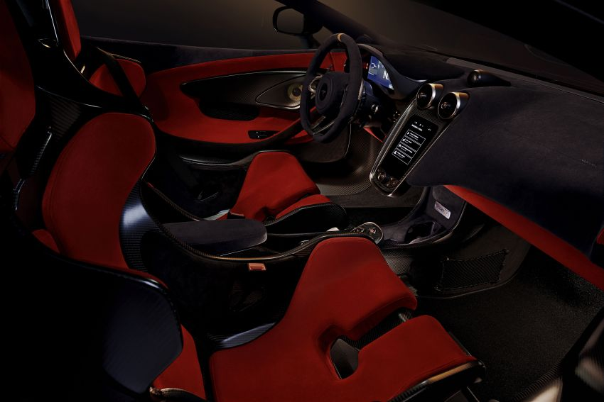 McLaren 600LT revealed – new Longtail with 600 PS Image #832759