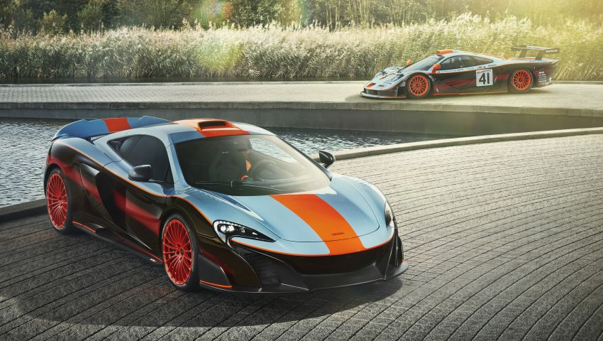 McLaren 675LT with F1 GTR livery for Johor prince Image #823916