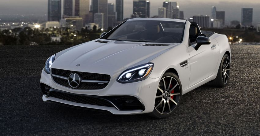 2019 Mercedes Amg Slc43 Now Comes With 385 Hp