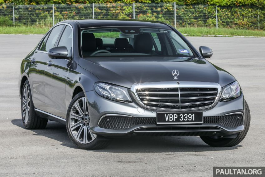 W213 Mercedes-Benz E-Class gets MY2018 updates – EQ Power branding for E350e, new ambient lighting Image #827211
