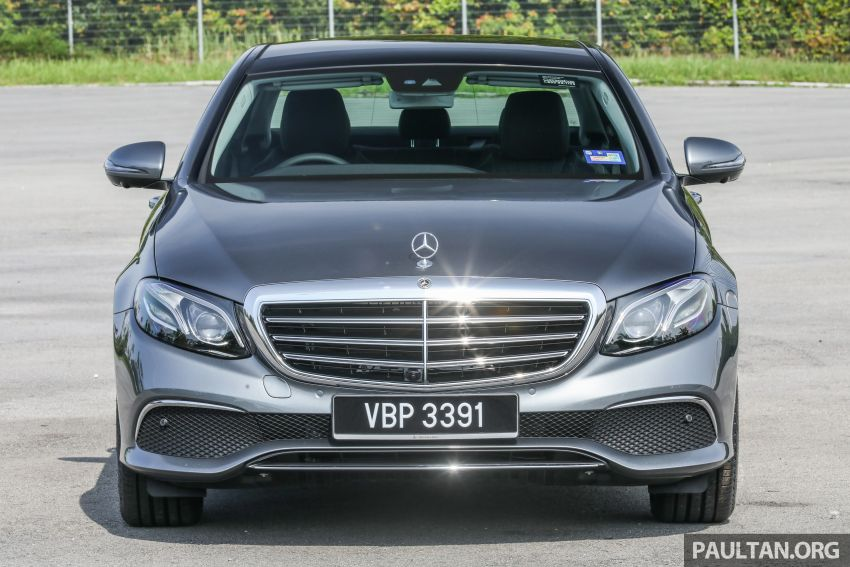 W213 Mercedes-Benz E-Class gets MY2018 updates – EQ Power branding for E350e, new ambient lighting Image #827223