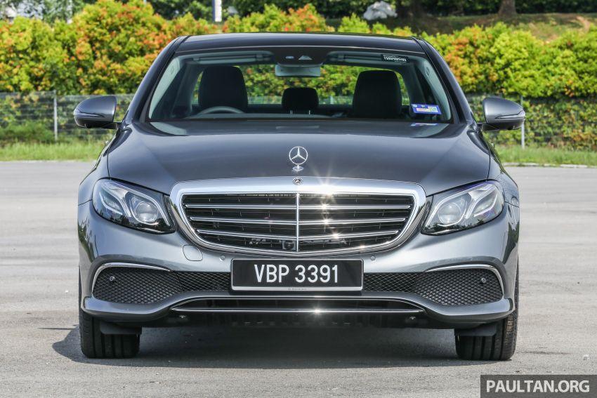 W213 Mercedes-Benz E-Class gets MY2018 updates – EQ Power branding for E350e, new ambient lighting Image #827224