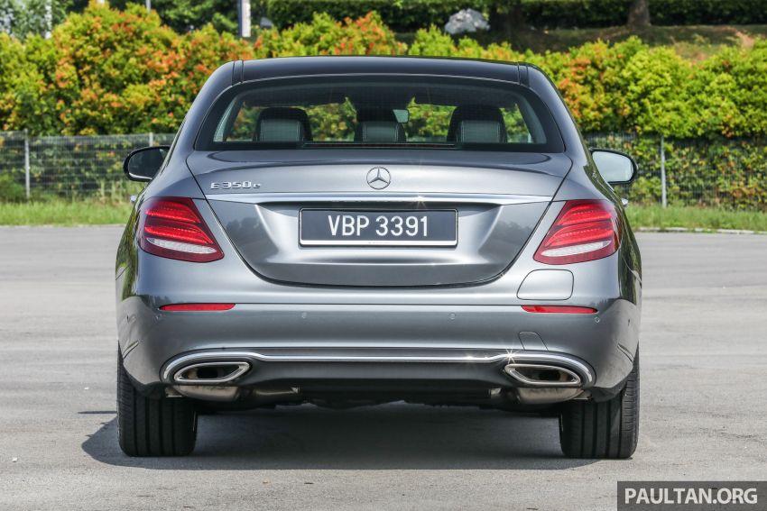 W213 Mercedes-Benz E-Class gets MY2018 updates – EQ Power branding for E350e, new ambient lighting Image #827226