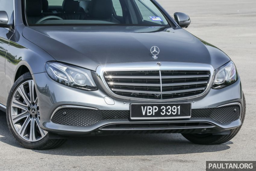 W213 Mercedes-Benz E-Class gets MY2018 updates – EQ Power branding for E350e, new ambient lighting Image #827227