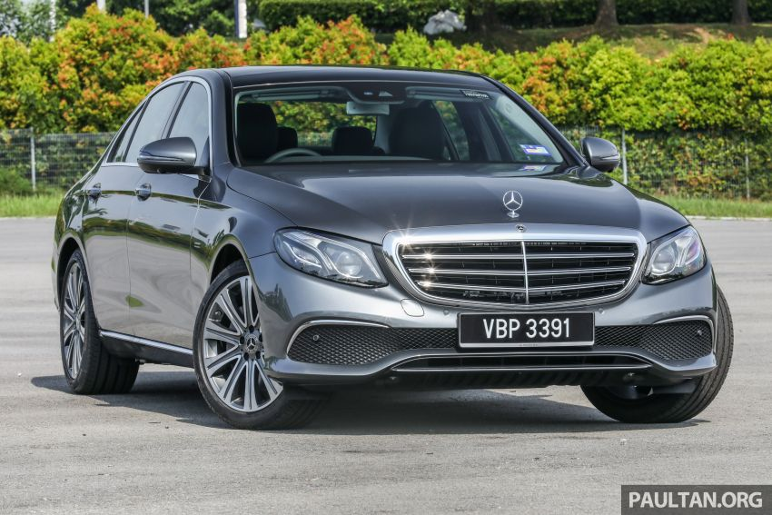W213 Mercedes-Benz E-Class gets MY2018 updates – EQ Power branding for E350e, new ambient lighting Image #827212
