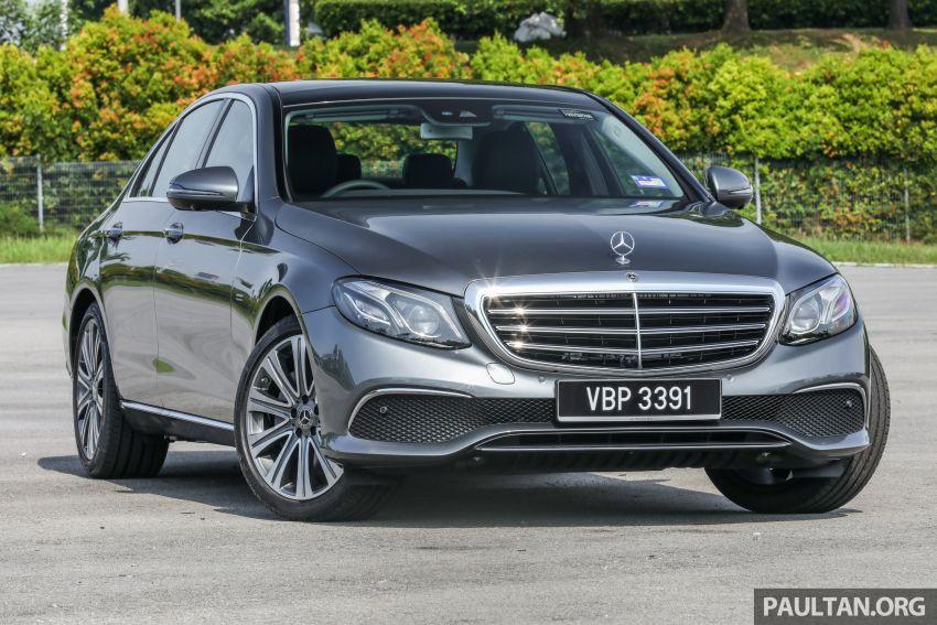 W213 Mercedes-Benz E-Class gets MY2018 updates – EQ Power branding for E350e, new ambient lighting Image #827212