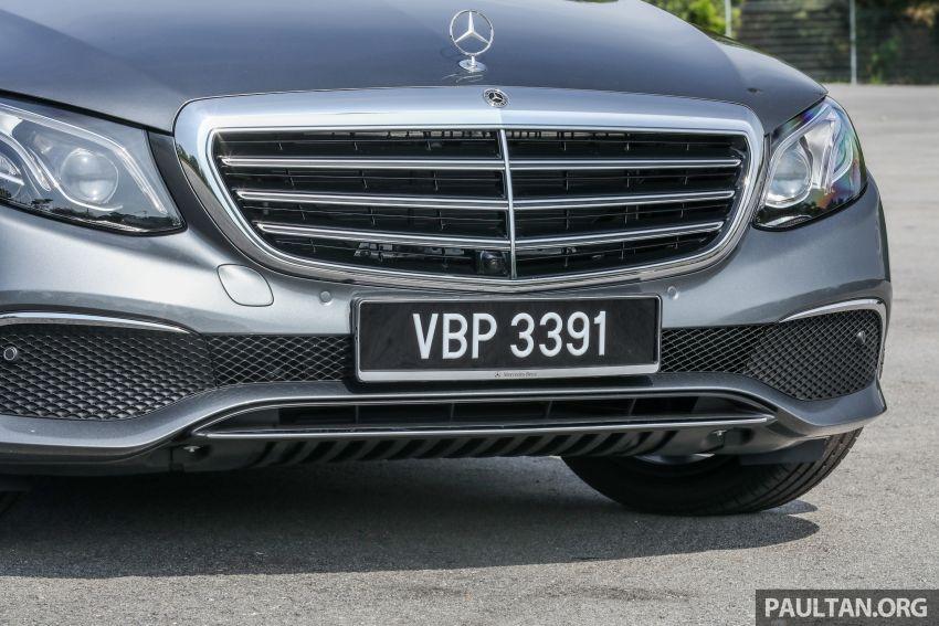 W213 Mercedes-Benz E-Class gets MY2018 updates – EQ Power branding for E350e, new ambient lighting Image #827232