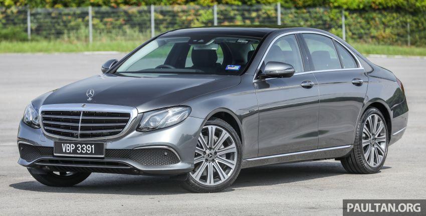 W213 Mercedes-Benz E-Class gets MY2018 updates – EQ Power branding for E350e, new ambient lighting Image #827215