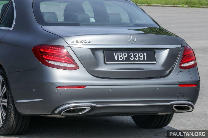 W213 Mercedes-Benz E-Class gets MY2018 updates – EQ Power branding for E350e, new ambient lighting Image #827242