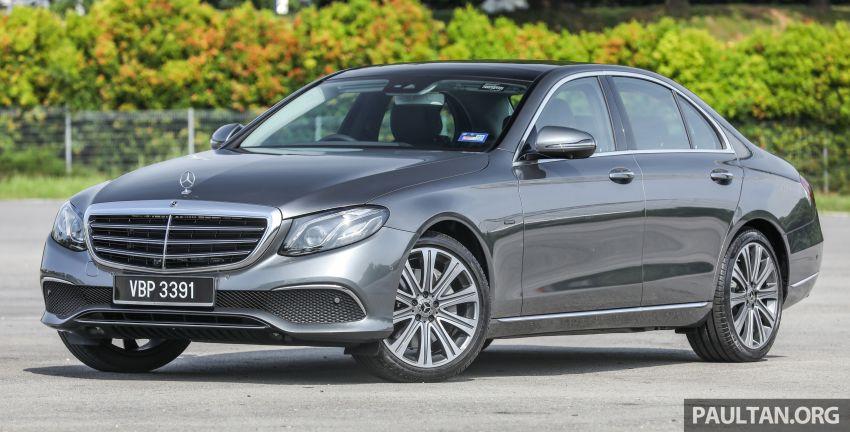W213 Mercedes-Benz E-Class gets MY2018 updates – EQ Power branding for E350e, new ambient lighting Image #827216