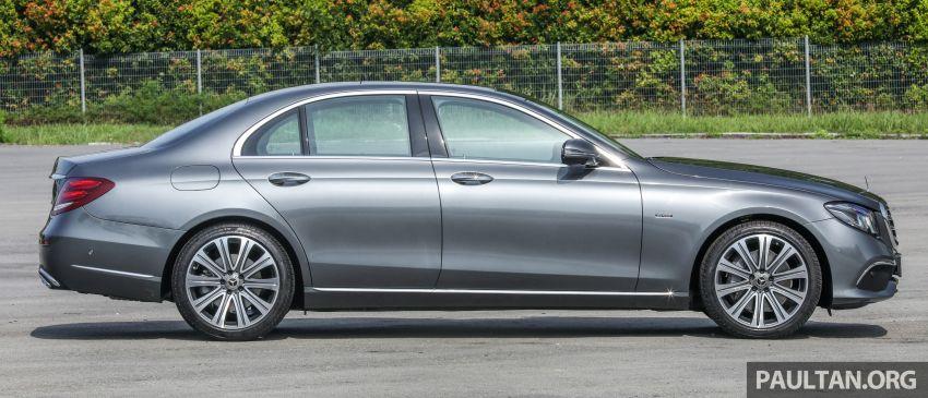 W213 Mercedes-Benz E-Class gets MY2018 updates – EQ Power branding for E350e, new ambient lighting Image #827221