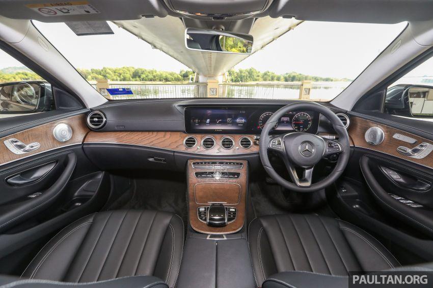 W213 Mercedes-Benz E-Class gets MY2018 updates – EQ Power branding for E350e, new ambient lighting Image #827251