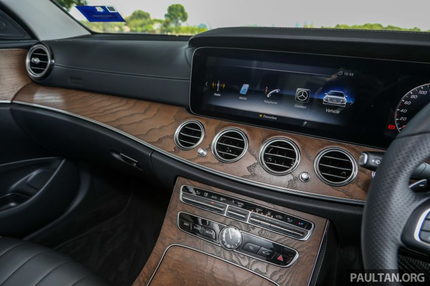 W213 Mercedes-Benz E-Class gets MY2018 updates – EQ Power branding for E350e, new ambient lighting Image #827272