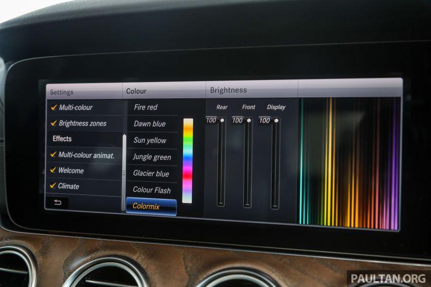 W213 Mercedes-Benz E-Class gets MY2018 updates – EQ Power branding for E350e, new ambient lighting Image #827273
