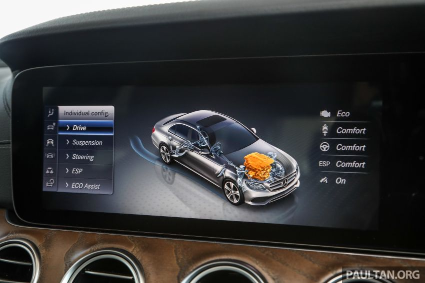 W213 Mercedes-Benz E-Class gets MY2018 updates – EQ Power branding for E350e, new ambient lighting Image #827278