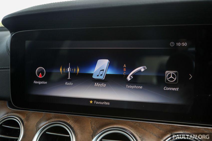 W213 Mercedes-Benz E-Class gets MY2018 updates – EQ Power branding for E350e, new ambient lighting Image #827279