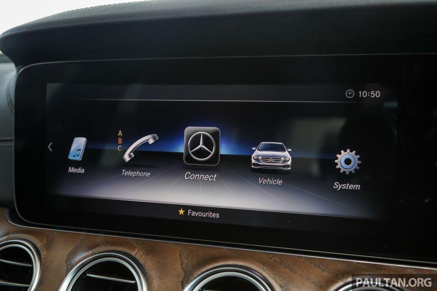 W213 Mercedes-Benz E-Class gets MY2018 updates – EQ Power branding for E350e, new ambient lighting Image #827280