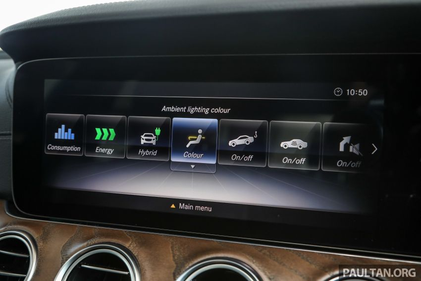 W213 Mercedes-Benz E-Class gets MY2018 updates – EQ Power branding for E350e, new ambient lighting Image #827281