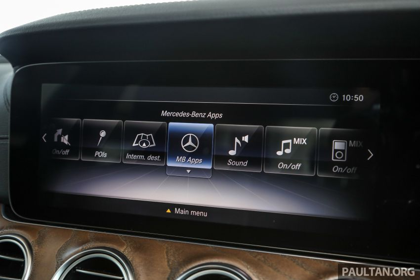 W213 Mercedes-Benz E-Class gets MY2018 updates – EQ Power branding for E350e, new ambient lighting Image #827282
