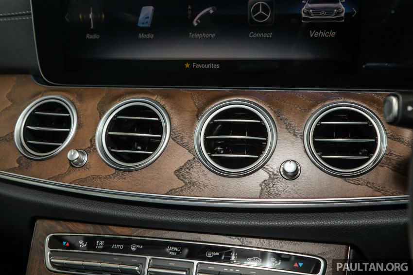 W213 Mercedes-Benz E-Class gets MY2018 updates – EQ Power branding for E350e, new ambient lighting Image #827284