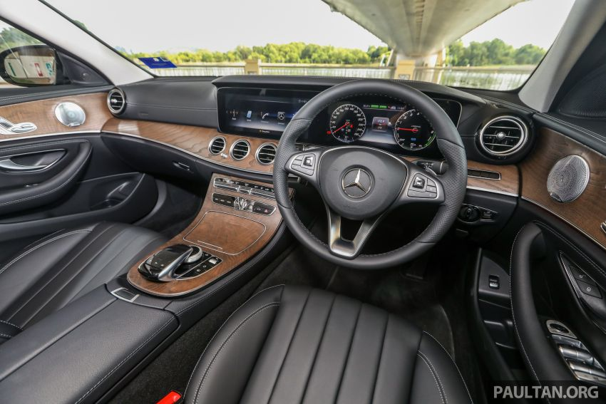 W213 Mercedes-Benz E-Class gets MY2018 updates – EQ Power branding for E350e, new ambient lighting Image #827295