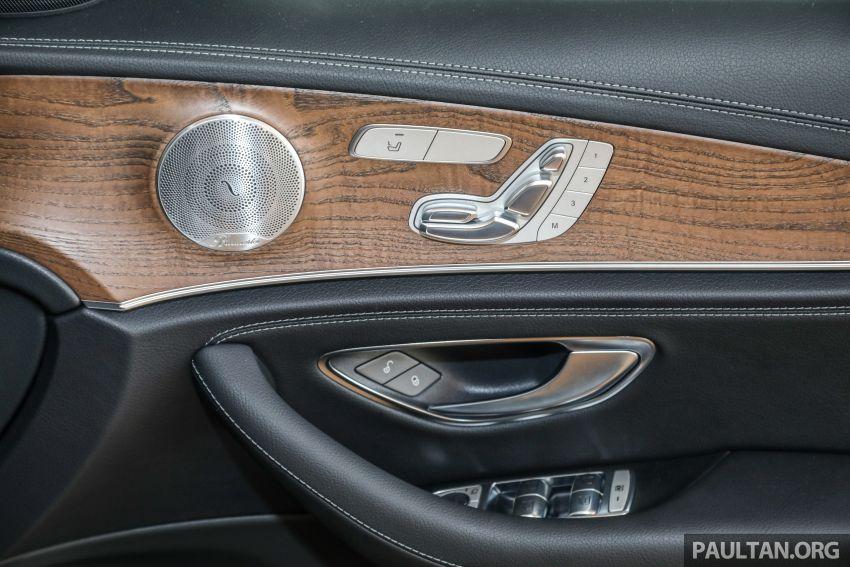 W213 Mercedes-Benz E-Class gets MY2018 updates – EQ Power branding for E350e, new ambient lighting Image #827302