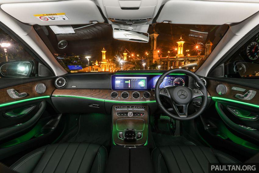 W213 Mercedes-Benz E-Class gets MY2018 updates – EQ Power branding for E350e, new ambient lighting Image #827316