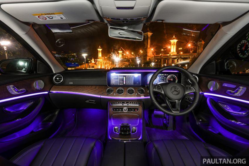 W213 Mercedes-Benz E-Class gets MY2018 updates – EQ Power branding for E350e, new ambient lighting Image #827318