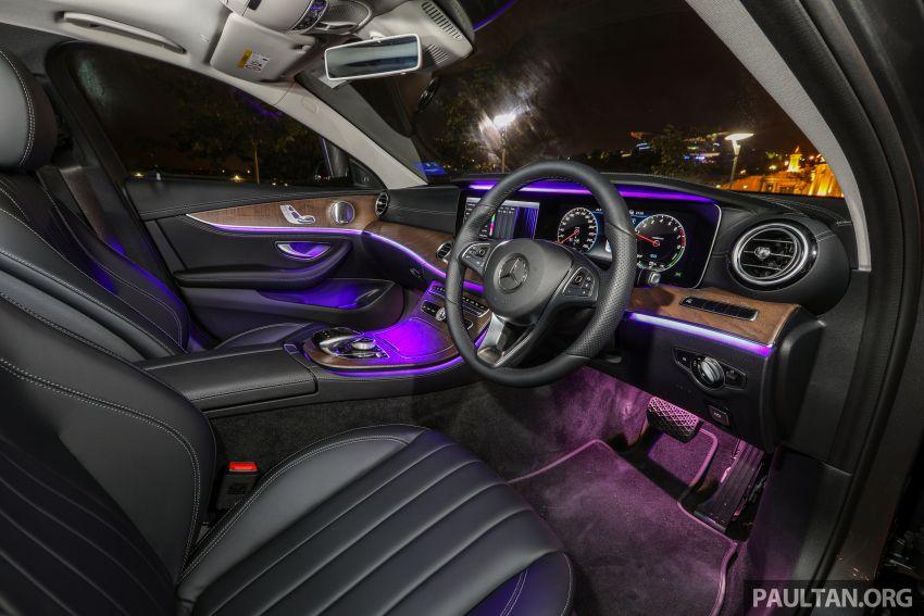 W213 Mercedes-Benz E-Class gets MY2018 updates – EQ Power branding for E350e, new ambient lighting Image #827319