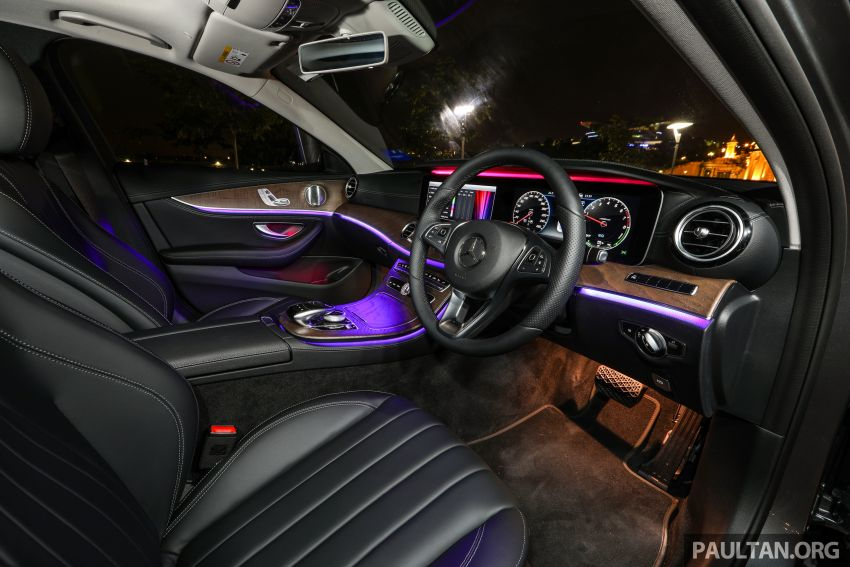 W213 Mercedes-Benz E-Class gets MY2018 updates – EQ Power branding for E350e, new ambient lighting Image #827320