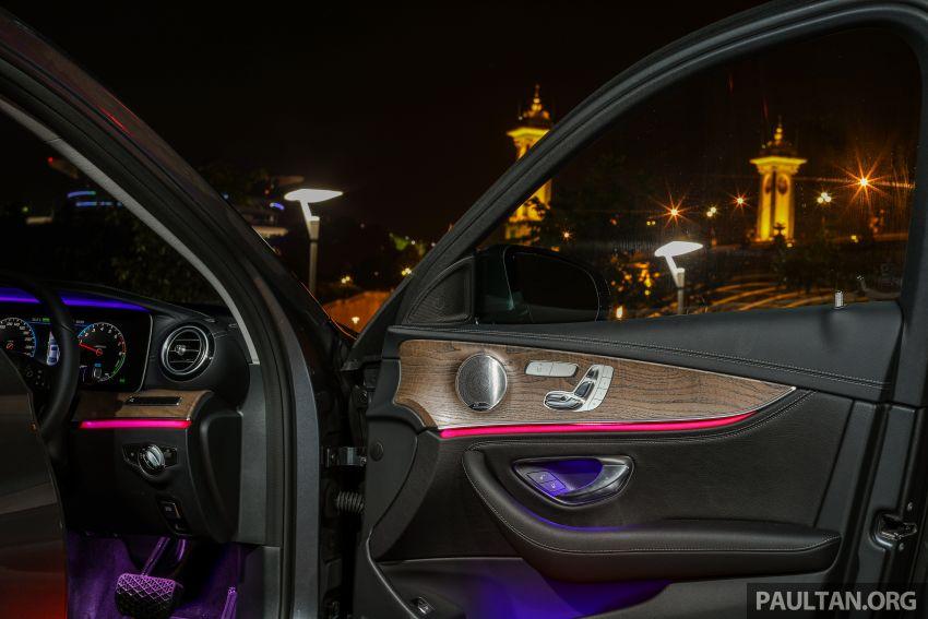 W213 Mercedes-Benz E-Class gets MY2018 updates – EQ Power branding for E350e, new ambient lighting Image #827321
