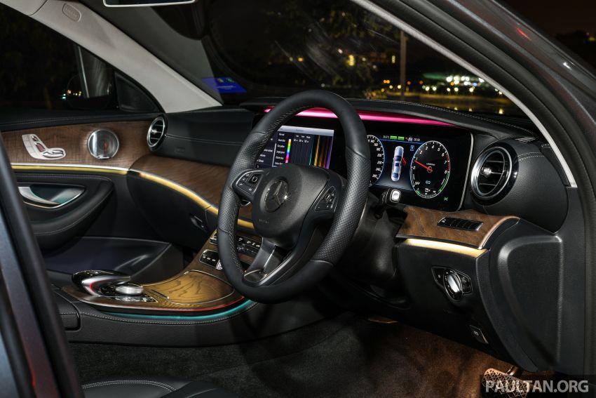 W213 Mercedes-Benz E-Class gets MY2018 updates – EQ Power branding for E350e, new ambient lighting Image #827323