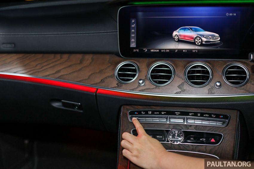 W213 Mercedes-Benz E-Class gets MY2018 updates – EQ Power branding for E350e, new ambient lighting Image #827325