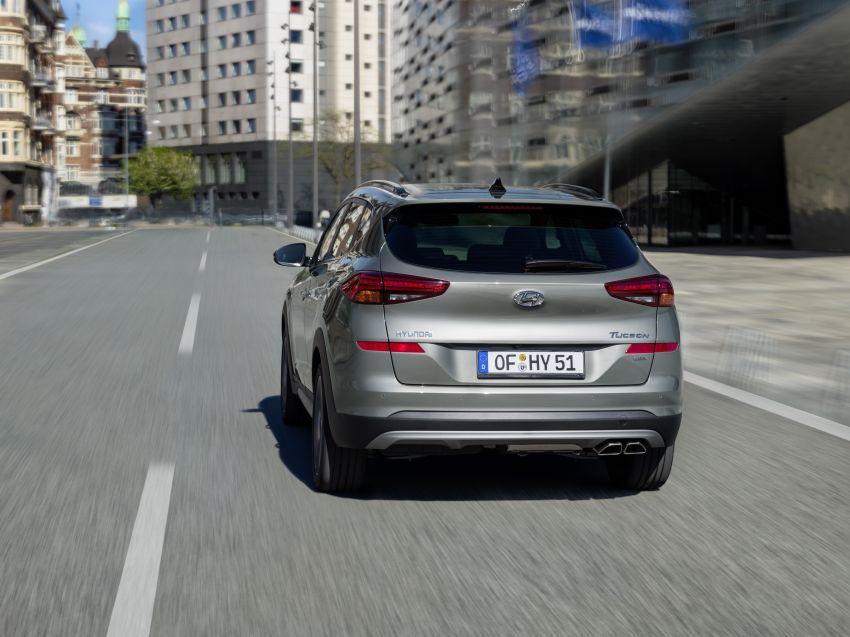 Hyundai Tucson facelift – 48V mild hybrid in Europe Image #824435