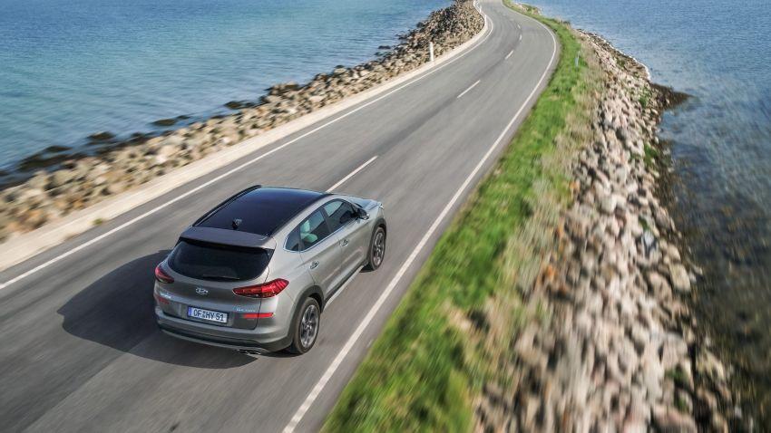 Hyundai Tucson facelift – 48V mild hybrid in Europe Image #824444
