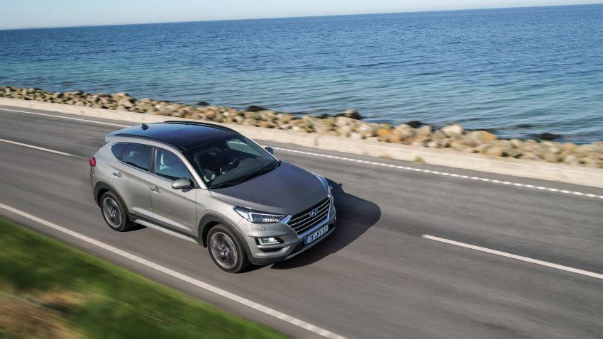 Hyundai Tucson facelift – 48V mild hybrid in Europe Image #824445