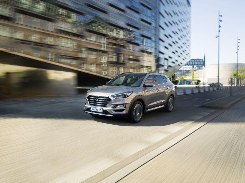 Hyundai Tucson facelift – 48V mild hybrid in Europe Image #824446