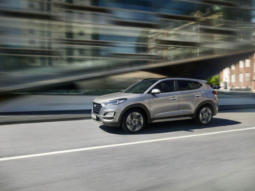 Hyundai Tucson facelift – 48V mild hybrid in Europe Image #824447