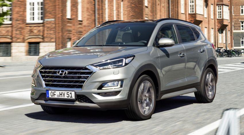 Hyundai Tucson facelift – 48V mild hybrid in Europe Image #824448