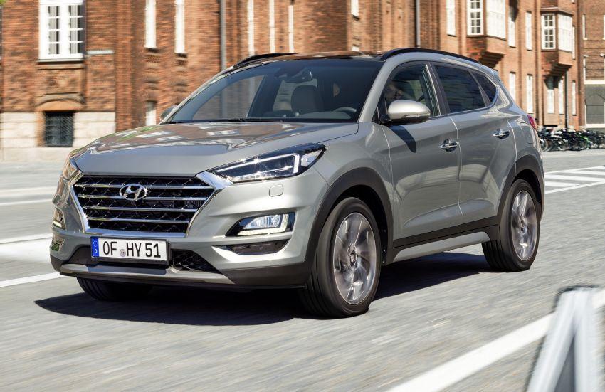Hyundai Tucson <em>facelift</em> 2019 terima enjin turbodiesel dengan sistem hibrid ringkas 48V di pasaran Eropah Image #824601