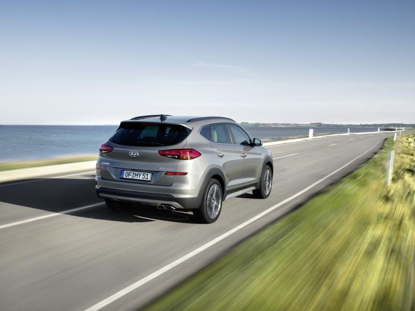 Hyundai Tucson facelift – 48V mild hybrid in Europe Image #824436