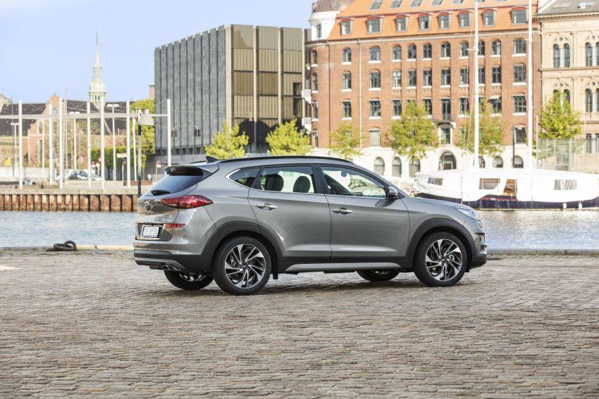 Hyundai Tucson facelift – 48V mild hybrid in Europe Image #824449