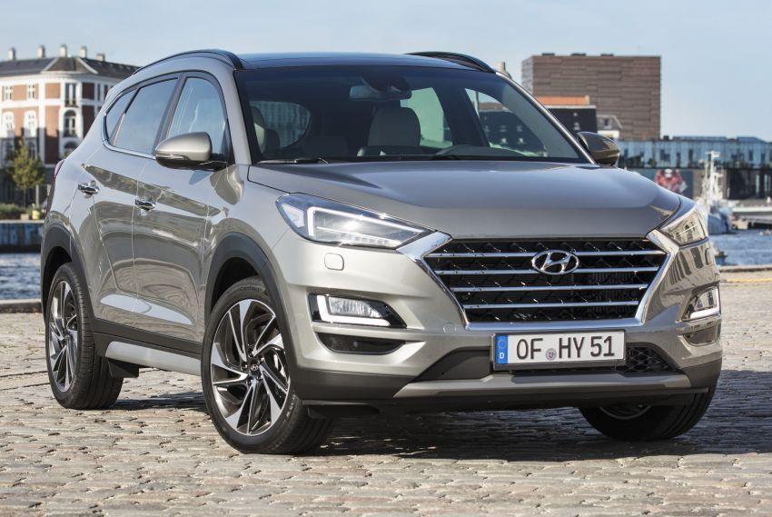 Hyundai Tucson facelift – 48V mild hybrid in Europe Image #824450