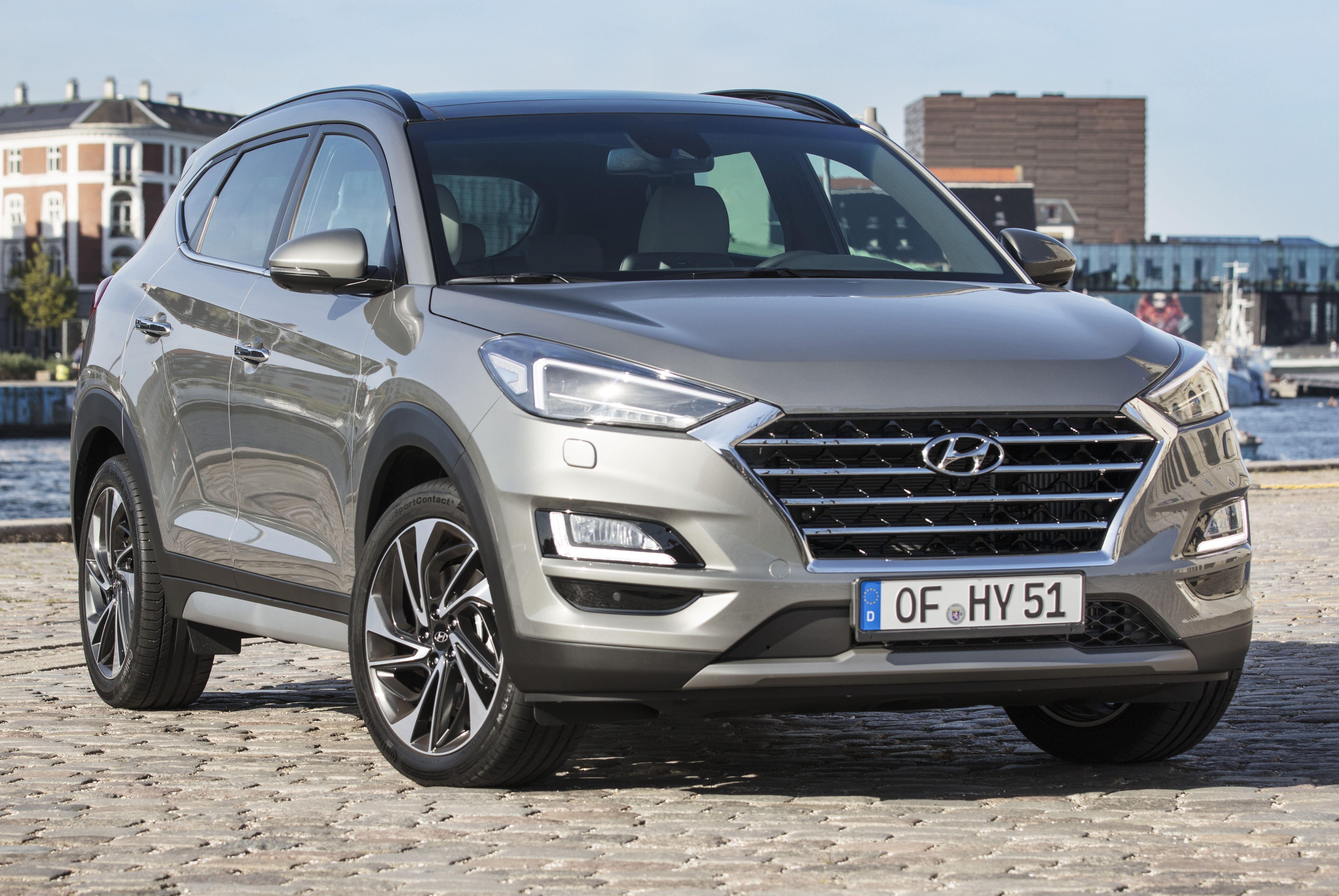 Facelift Hyundai Tucson >> Hyundai Tucson Facelift 48v Mild Hybrid In Europe
