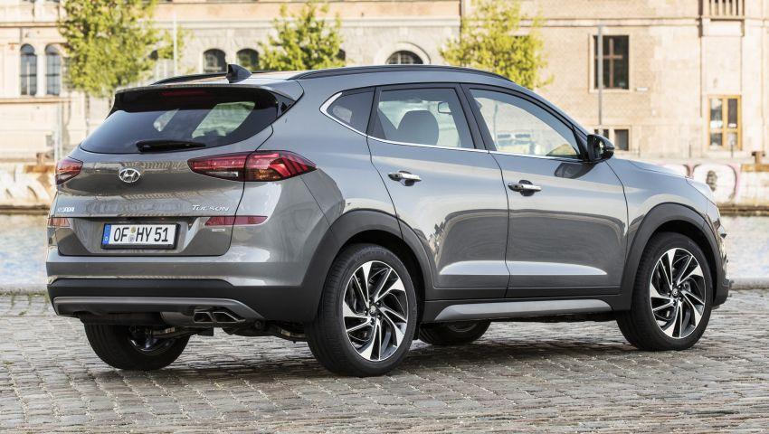 Hyundai Tucson facelift – 48V mild hybrid in Europe Image #824451