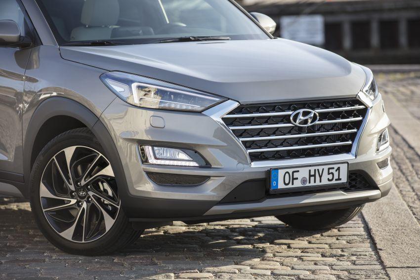 Hyundai Tucson facelift – 48V mild hybrid in Europe Image #824453