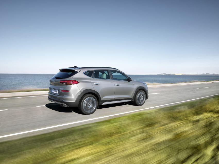 Hyundai Tucson facelift – 48V mild hybrid in Europe Image #824437