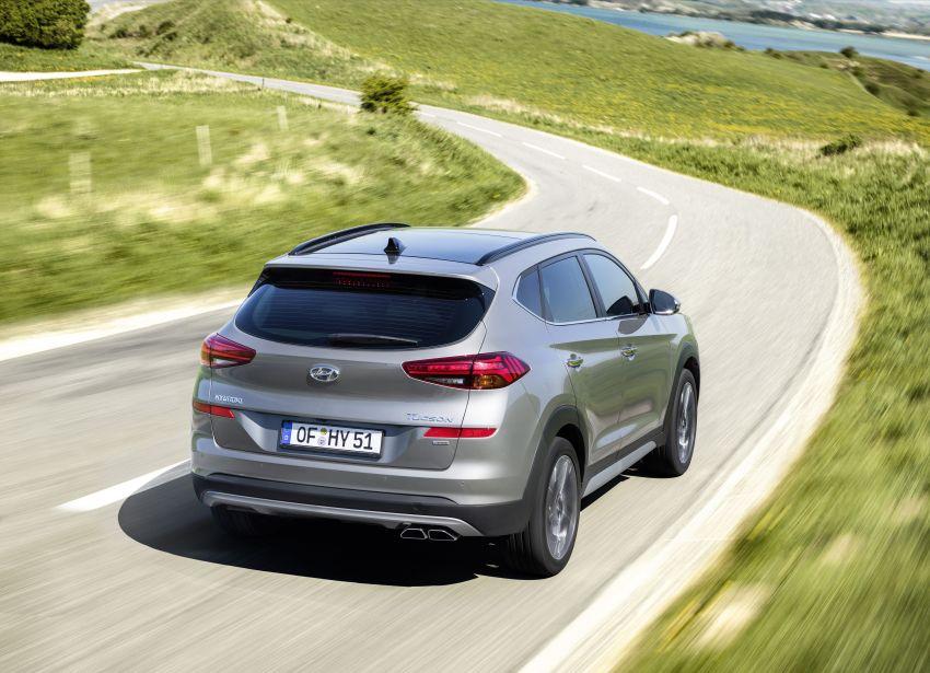 Hyundai Tucson facelift – 48V mild hybrid in Europe Image #824439